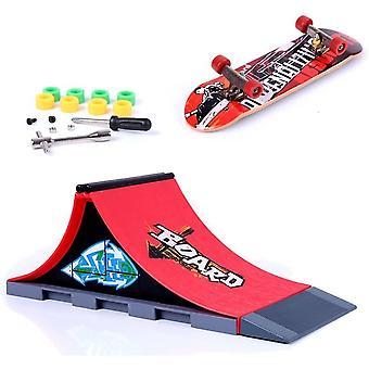 HanFei Mini Finger Skateboard und Ramp Zubehr Set (A)
