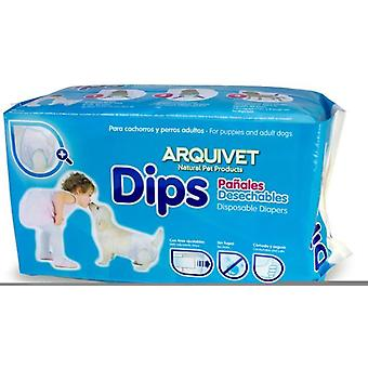 Arquivet Arquidips Disposable diapers (Dogs , Grooming & Wellbeing , Diapers)