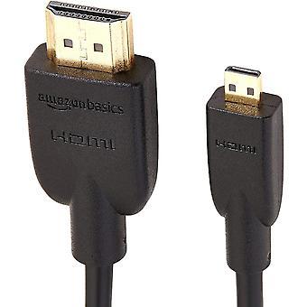 FengChun HL-007333 Hochgeschwindigkeits-HDMI-Kabel, Typ Micro-HDMI auf HDMI, HDMI-Standard 2.0 -