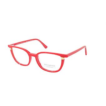 Face A Face Eyeglasses Frame TOSCA 2 Col. 6084 Acetate Pleated Loving Red