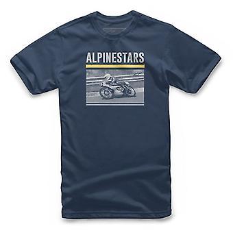 Alpinestars inspelad kortärmad T-shirt i Navy