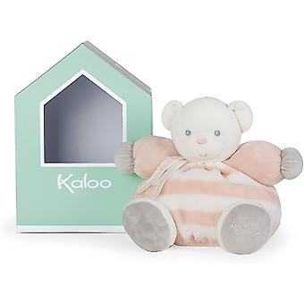 Kaloo chubby bear - peach & cream - medium