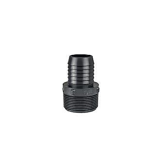"Lasco 1436-101 0.75"" x 0.5"" Insert PVC Reducing Male Adapter"