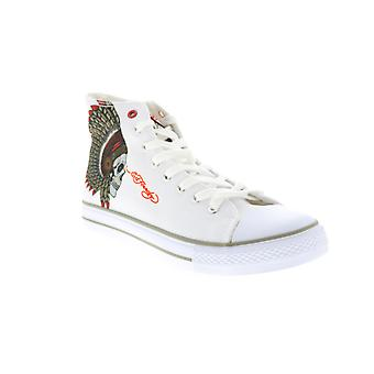 Ed Hardy Adult Mens Skull Lifestyle Sneakers