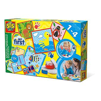 SES Creative - Children's My First Work of Art Set (Multi-colour)