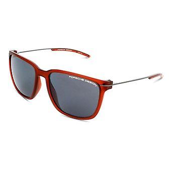 Unisex slnečné okuliare Porsche P8637-D Červená (Â ̧ 57 mm)