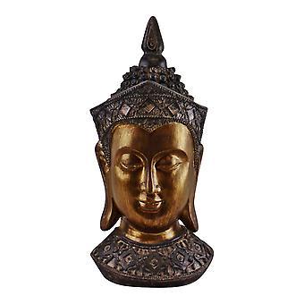 Koristeellinen Buddha-pää