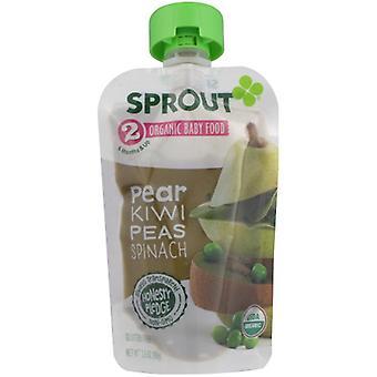Sprout Baby Fd Pr Kwi Erbsen Spnch, Fall von 6 X 3,5 Oz