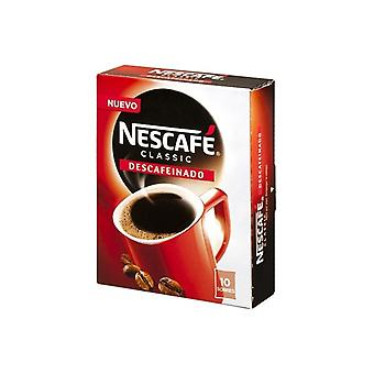 Oldható kávé Nescafé koffeinmentes (10 uds)