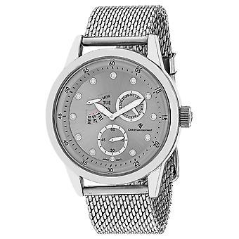 Christian Van Sant Men's Rio Silver Dial Watch - CV8710