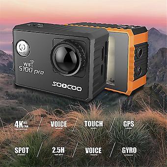 Soocoo Sprachsteuerung S100pro Action Kamera Wifi 4k Hd 2.0 Touchscreen-Kamera