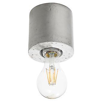 Downlight montati sulla superficie Flush Light Grey E27