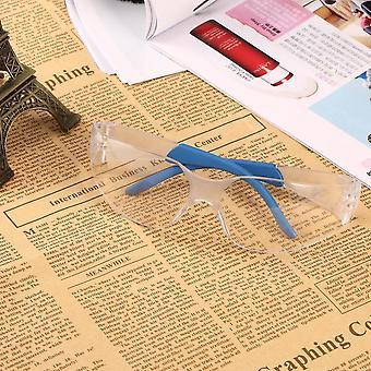 Óculos de segurança transparentes Óculos de proteção Prova de poeira de resmão