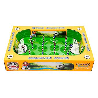 Matrax World Champions Football Game, 31.5 x 48 cm, 2 Player Game, Raw Material Suitable For Children Health