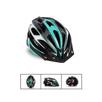 Blue Cycling Bicycle Helmet Adjustable Lightweight Adult X3378