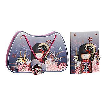 Journal avec accessoires DKD Home Decor (27 x 4,5 x 17,5 cm)