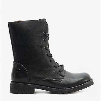 Heavenly Feet Chloe2 Ladies Ankle Boots Black