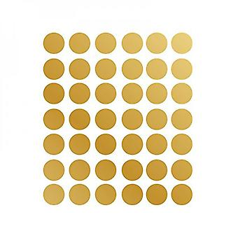 Gold Dot Stickers Wall Decals,circle Stickers Room Diy Wall Sticker