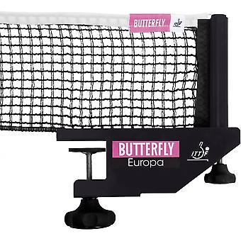 Butterfly Europa Pöytätennisverkko & Post Set ITTF Hyväksytty