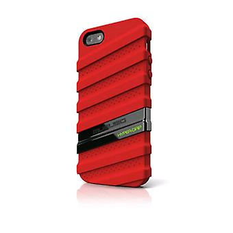 Musubo - HyperGrip Case for Apple iPhone 5 Cell Phones - Red