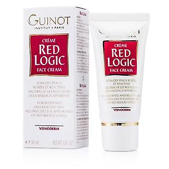 Guinot Red Logic Face Cream For Reddened & Reactive Skin - 30ml/1.03oz