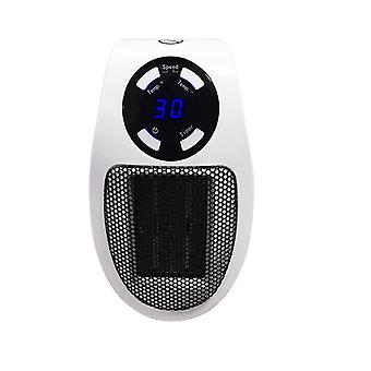 Silktaa Wall-mounted Mini Heater With Adjustable Thermostat And Timer And Led Display