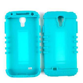 Rocker cellulaire illimité Series Silicone Skin pour Samsung GS4 (vert bleuâtre)