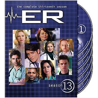 ER - ER: Season 13 [DVD] USA import