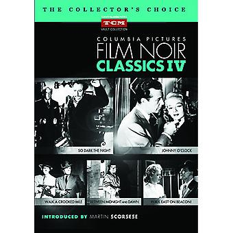 Columbia Pictures Film Noir Classics IV [DVD] USA import