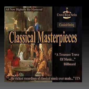 Importer des divers artiste - sortie classique - chefs-d'œuvre classiques [CD] é.-u.