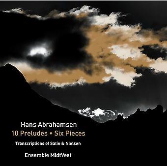 Abrahamsen / Ensemble Midtvest - Hans Abrahamsen: 10 Preludes - Six Pieces [CD] USA import