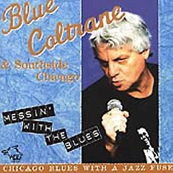 Blå Coltrane - Messin' med Blues [CD] USA import