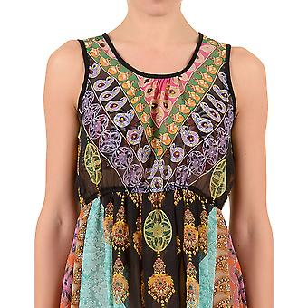 Iconique IC7-102 nők ' s fekete Paisley Beach dress
