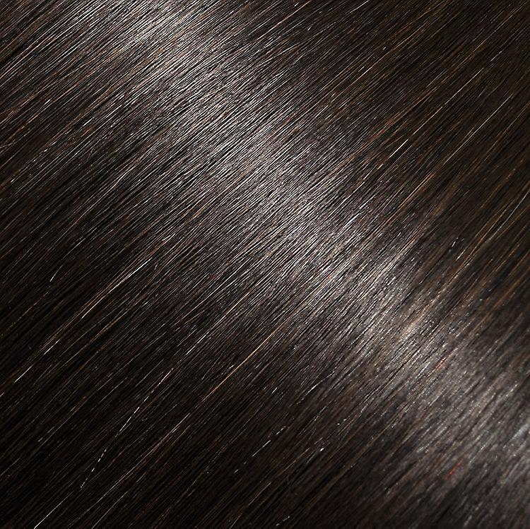 Tête pleine brune foncé intense - Extensions à clips cheveux - #2