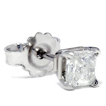 1 / 3ct Diamond Stud 14K or blanc