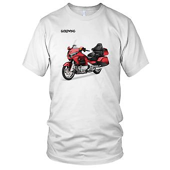 Honda Gold Wing GL1800 Touring motorsykkel motorsykkel Biker Mens T skjorte