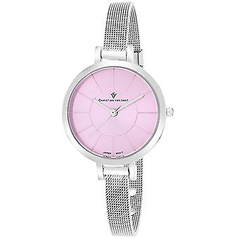 Cv6612, Christian Van Sant Damen'S Skinny Watch