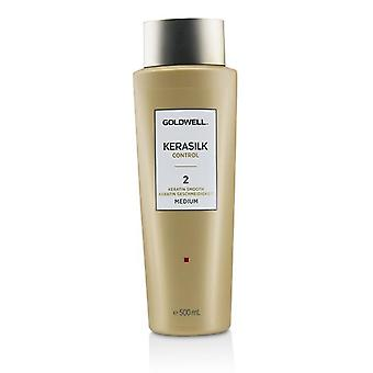 Goldwell Kerasilk kontroll Keratin Smooth 2 - nr Medium - 500ml/16,9 oz
