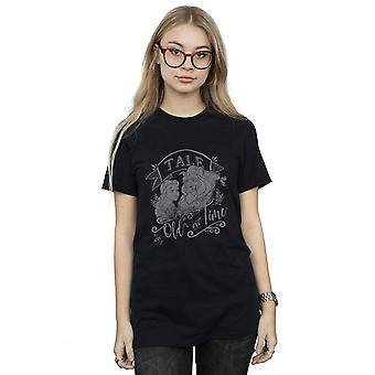 Disney Women's Beauty And The Beast Tale As Old As Time Boyfriend Fit T-Shirt
