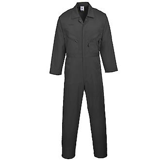 Portwest Mens Liverpool-zip Workwear Coverall