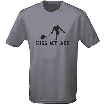 Kiss My Ace Tennis Mens T-Shirt 10 Colours (S-3XL) by swagwear