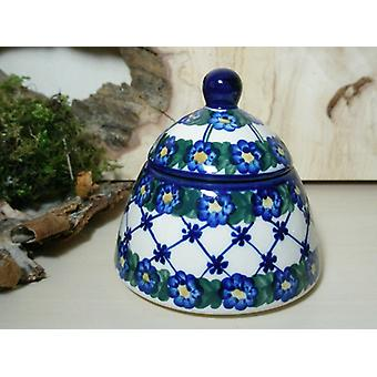 Socker / sylt burk, 53 - Bunzlau keramik porslin - BSN 6611