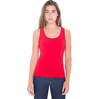 الملابس الأمريكية النسائية/السيدات القطن دنه أعلى دبابات خفيفة الوزن