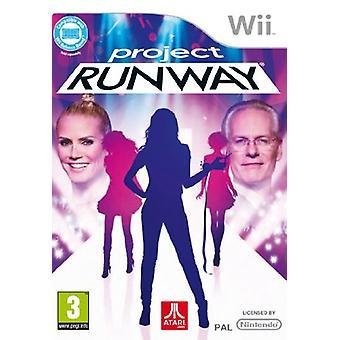 Project Runway (Nintendo Wii)-in de fabriek verzegeld