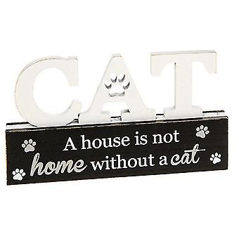 Purrfect Pals Cat Table Plaque House Home door Shudehill Giftware
