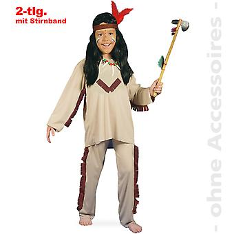 Indiske børn indisk kostume Apache kostume børn kostume rød hud