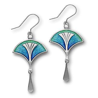 Sterling Silver Traditional Pat Cheney Design Pair of Earrings - EE764