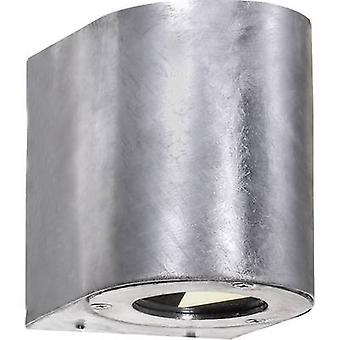 Nordlux Canto 77571031 LED ulkona seinälle vaalea 10 W lämmin valkoinen sinkitty