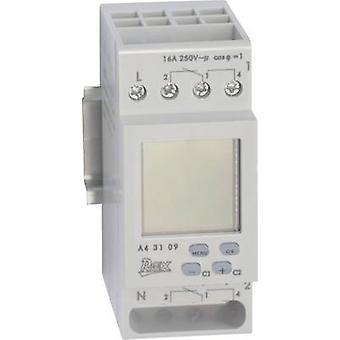 REX Zeitschaltuhren A43109 DIN raylı montaj zamanlayıcısı 230 V