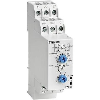 Crouzet Monitoring relay 24 V DC, 24 V AC, 240 V DC, 240 V AC 1 change-over 1 pc(s) ENRM Fluid level monitoring